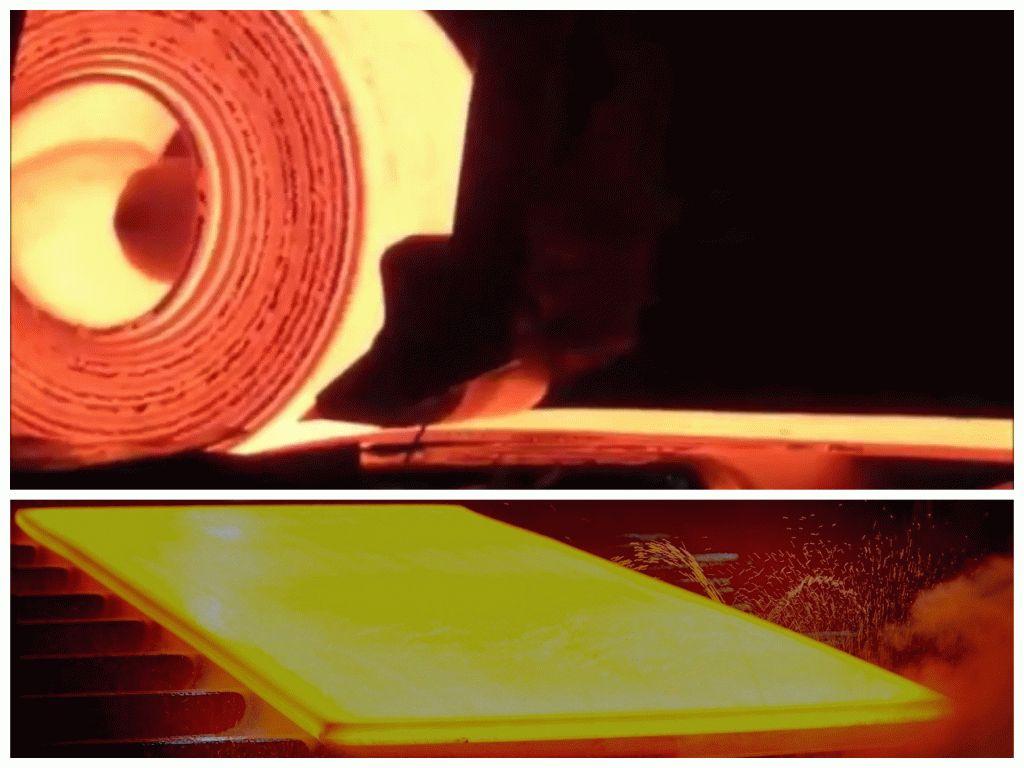 Как производится плоский прокат?